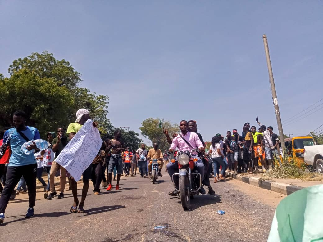 Kano protesters